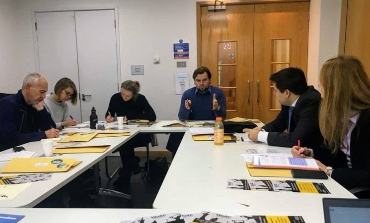Am participat la o întâlnire pe tema exploatării românilor și bulgarilor în industria hotelieră din Marea Britanie