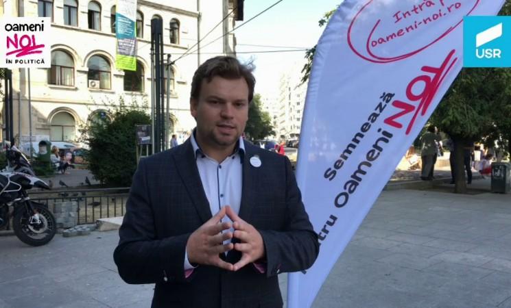 """Deputatul Daniel Popescu salută lansarea inițiativei """"Oameni Noi"""""""