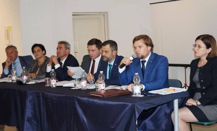Domnul deputat Daniel Popescu s-a întâlnit cu membrii comunităților românești de la Roma