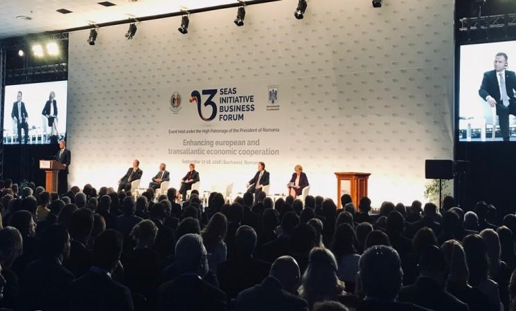 Deputatul Daniel Popescu - prezent la Summit-ul Inițiativei celor Trei Mări de la București