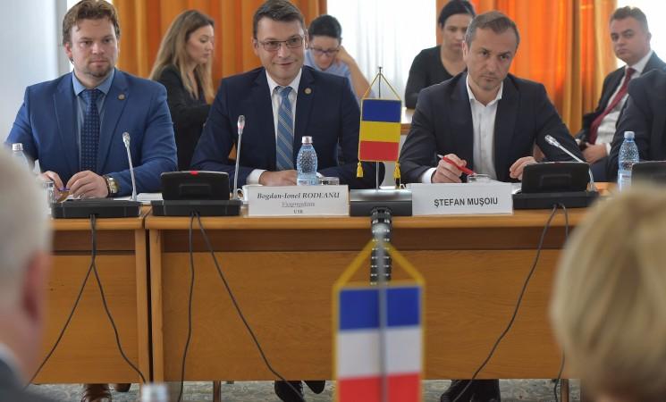 Comisia pentru apărare, ordine publică și siguranță națională a primit vizita unei delegații de parlamentari francezi