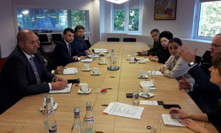 Deputatul Daniel Popescu - în vizită de informare la Bruxelles