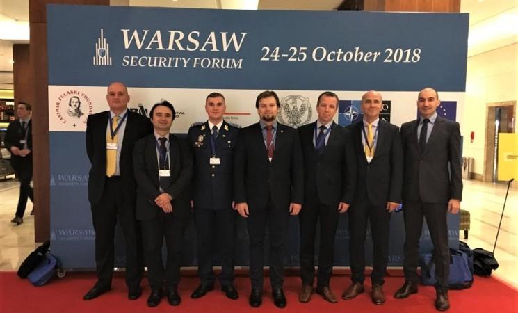 Deputatul Daniel Popescu a participat la Forumul de Securitate de la Varșovia
