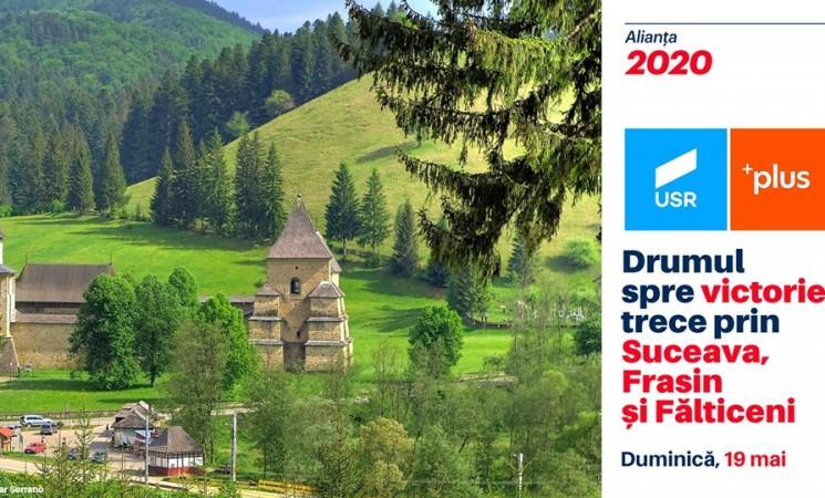 Drumul spre victorie trece prin Suceava, Frasin și Fălticeni