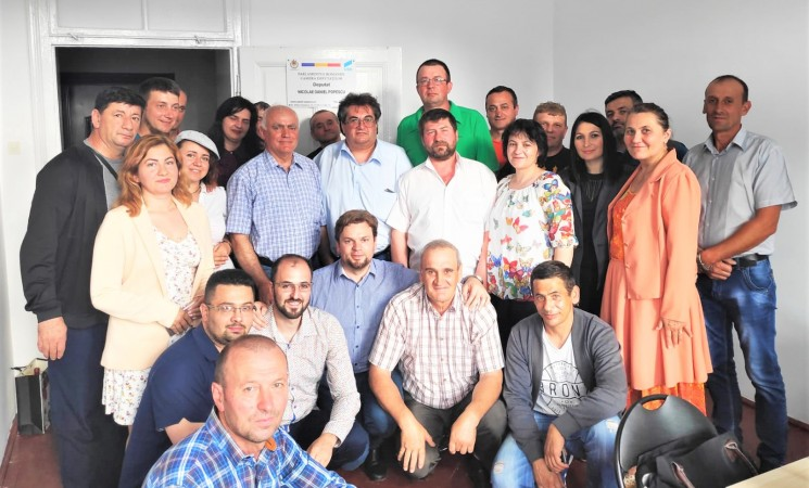 Deputatul USR Daniel Popescu deschide un nou birou parlamentar la Vatra Dornei