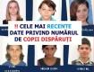 CELE MAI RECENTE DATE PRIVIND NUMĂRUL DE COPII DISPĂRUȚI! Apel către societatea civilă, mass-media și instituțiile abilitate să solicite acces la ședințele Comisiei parlamentare pentru anchetă privind situația cazurilor copiilor dispăruți!